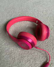 Beats Solo 2 Wired Headphones (Pink)