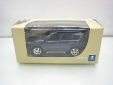 Diecast Norev Peugeot 4007 3 Inch Blue Mint in Box