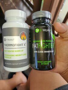 It Works Thermofight X x & Advanced Formula Fat Fighter Combo 🔥 BURN FAT FAST🔥