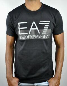 Emporio Armani EA7 Logo Crew Neck T-Shirt For Men