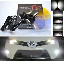 LED Kit G5 80W 9003 HB2 H4 6000K White Head Light Two Bulbs High Low Beam Fit