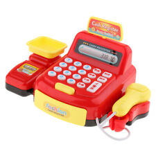 Supermarket Cash Register Pretend Play Toy Kids/Toddler Role Play Game Red