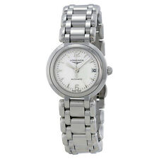 Longines Prima Luna White Dial Stainless Steel Ladies Watch L8.111.4.16.6