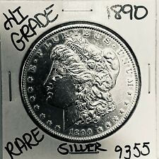 1890 MORGAN SILVER DOLLAR HI GRADE GENUINE U.S. MINT RARE COIN 9355