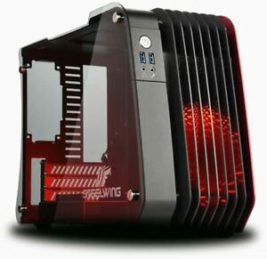 Enermax Steelwing Micro-ATX Tower PC Case - Red