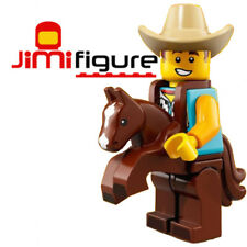 NEW LEGO Minifigures Cowboy Costume Guy Series 18 71021 Party Genuine Sealed