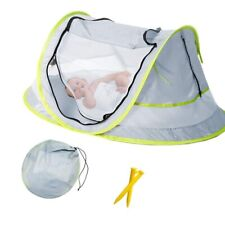 Baby Beach Tent Portable Baby Travel Bed UPF 50+ Sun Shelters Mosquito Net