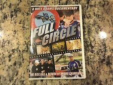 FULL CIRCLE THE RISE, FALL & RETURN OF AN FMX CHAMPION RARE DVD MOTOCROSS OOP!