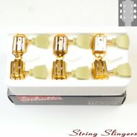 Schaller Original G-Series Tulip SR tuners/machine heads 3x3 Gold 10140523.16.36