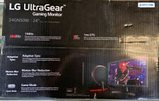 LG 24'' UltraGear FHD 144Hz 1ms Gaming Monitor (24GN50W-B)