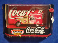 1998 MATCHBOX COLLECTIBLES COCA COLA 1937 DODGE AIRFLOW - COKE