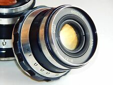 RARE INDUSTAR-61 2,8/53 ZEBRA Soviet Rangefinder lens (Zorki, FED, Leica) M39