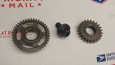 MAIN CRANK GEARS CRF450R CRF450 02 03 04 05 06 07 08 HONDA ENGINE SHAFT GEAR