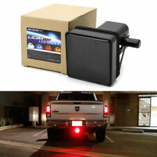 2'' Trailer 15 LED Truck Hitch Towing Receiver Cover Smoked Lens Brake Light US