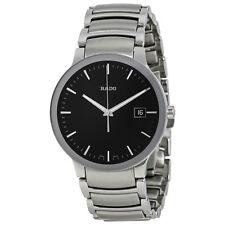 Rado Centrix Black Dial Stainless Steel Mens Watch R30927153