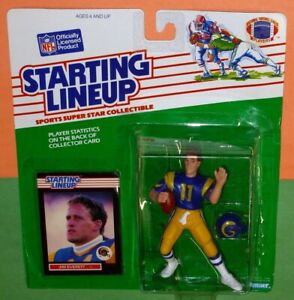 1989 JIM EVERETT Los Angeles L.A. Rams #11 *FREE_s/h* Starting Lineup