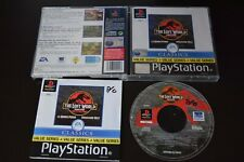The Lost World: Jurassic Park PS1 PlayStation One Manual Inc Good Cond PAL UK