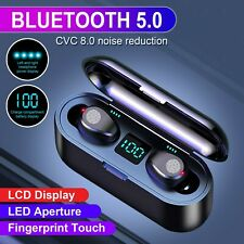 Bluetooth Earbuds Wireless Earphones Noise Canceling Stereo Headset Headphone US