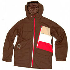 Quiksilver Men's MARKKU Jacket CHOCOLATE XL NWT  Reg $300.00