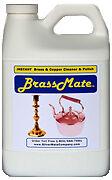 Brassmate Brass copper cleaner liquid polish 1/2 gallon