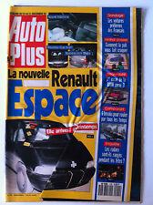 AUTO PLUS du 25/12/1990; Renault Espace/ comparatif 6 Breaks/ BMW série 3/ Pub