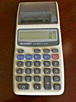 Sharp Vintage Calculator - Elsi Mate EL-1611h