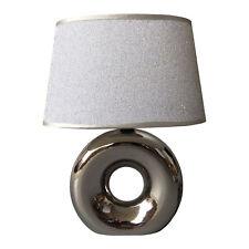 Homea céramique lampe de table 30cm Brillant Luminaire regard chrome