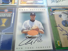 1996 Leaf Signature Series Bronze Andy Pettitte autograph auto Yankees