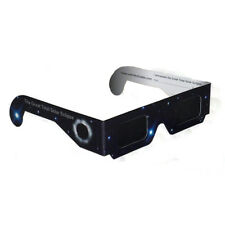 2 x Solar Eclipse Sun Spot Gazing Viewing Glasses UV Filter ISO Safe Darker Lens