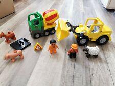 Lego Duplo Konvolut inkl 2 Grundplatten
