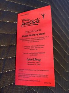 """Disney Institute """"Tell-A-Cast"""" SPECIAL EDITION"""