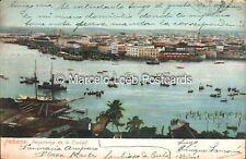 CUBA HABANA PANORAMA DE LA CIUDAD 1908