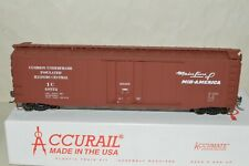 HO scale Accurail Illinois Central RR 50' plug door box car train MW KD's