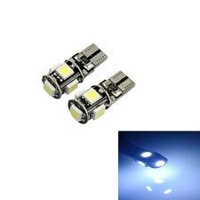 2PCS 5050 Canbus Error Free White T10 5-SMD W5W 194 16 LED Lights Car Interior