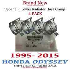 1995 - 2015 Honda ODYSSEY Genuine OEM Honda Radiator Hose Clamp Kit Set of 4