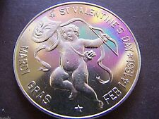 1961 History of Mardi Gras Series Nickel Doubloon