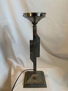 Vintage Art Deco style 1930's classic chrome table/desk lamp
