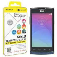 AMZER KRISTAL REAL HD TEMPERED GLASS FILM SCREEN PROTECTOR FOR LG JOY H220