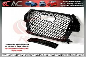 RSQ3 STYLE (GLOSS BLACK) FRONT GRILL (2012-2015) - FIT AUDI Q3 & SQ3