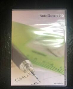 Autosketch 10 NEW sealed in dvd case with Permanent License