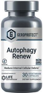 GEROPROTECT  AUTOPAGY RENEW  LONGEVITY AMPK SUPPORT 30 Capsules LIFE EXTENSION