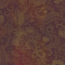 Stitched Jacobean Wallpaper TH6331 DOUBLE roll FREE shipping