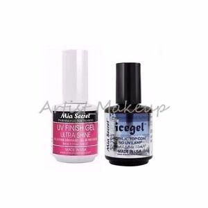 Mia Secret UV Finish Gel Ultra shine,  Xtrabond Acid Free Primer  *Made in USA*