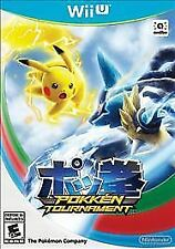 Pokkén Tournament With Bonus amiibo Card(Nintendo Wii U, 2016) - BRAND NEW