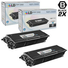 LD Compatible Brother TN620 / TN650 Set of 2 High Yield Black Toner Cartridges