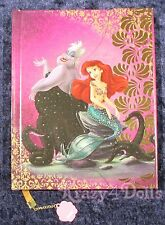 Disney Designer Fairytale Doll Heros VS Villains Ariel & Ursula Journal LE NEW