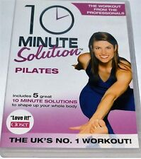 10 MINUTE SOLUTION PILATES DVD WORKOUT FITNESS UNWANTED GIFT PRESENT