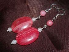 Hook Natural Moonstone Costume Earrings