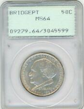 1936-P Bridgeport Silver Commemorative 50C, MS 64 - PCGS