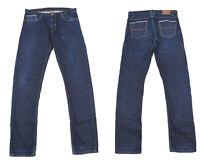 Massimo Dutti Bleu Foncé Jeans Skinny Lisières Lisière Hommes Jean Taille 44/34